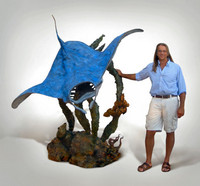 """Ocean Aviator"" Lifesize